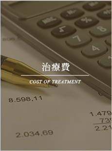 治療費 COST OF TREATMENT